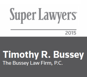 Tim Bussey Super Lawyer