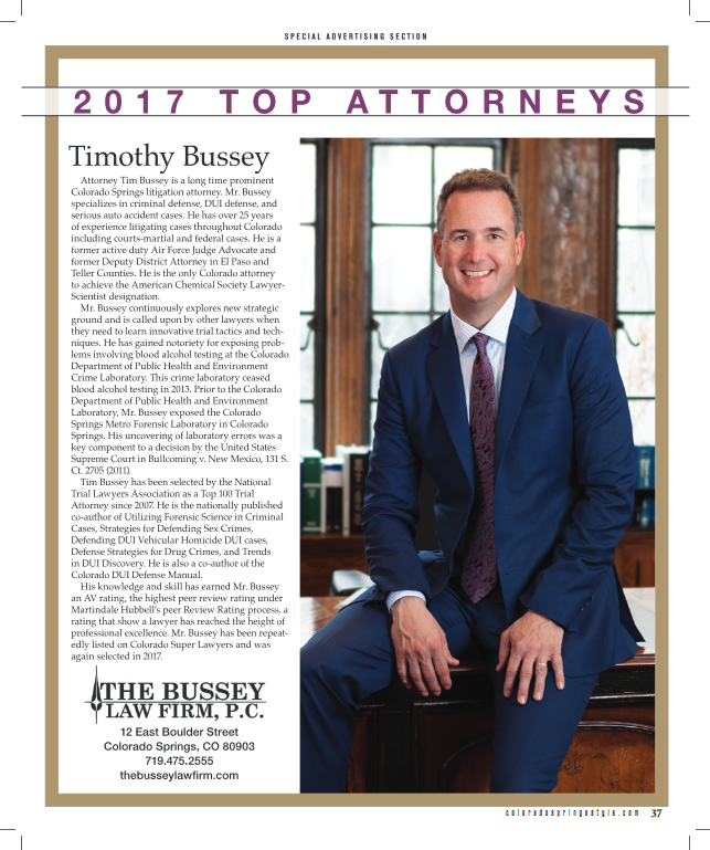 Bussey 2017 Top Attorneys